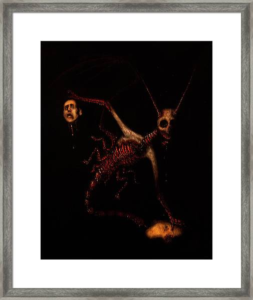 The Murder Bug - Artwork Framed Print