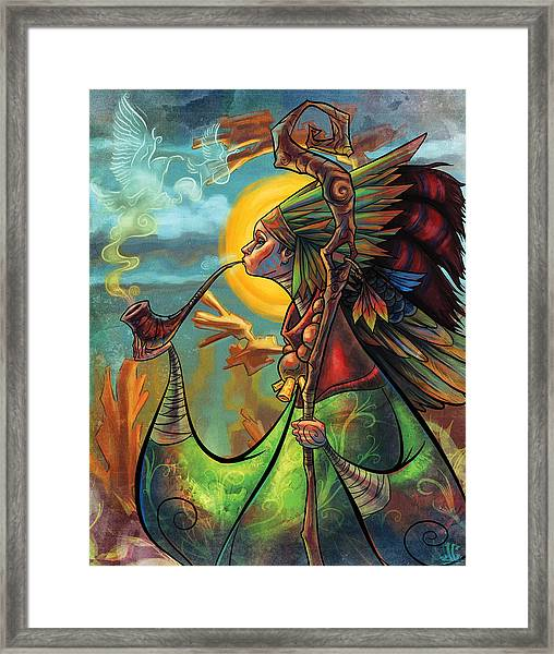 The Mystic Framed Print