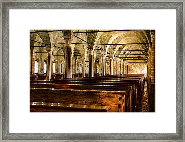 The Name Of The Rose - Hdr Framed Print