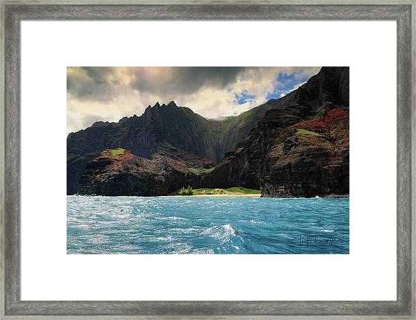 The Napali Coast Framed Print