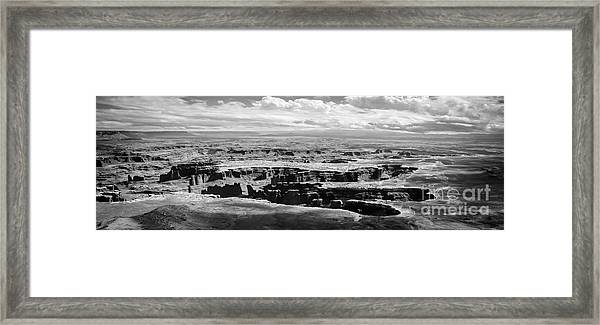 Framed Print featuring the photograph The Needles At Canyonlands by Scott and Amanda Anderson