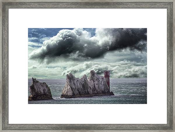 The Needles Isle Of Wight Framed Print