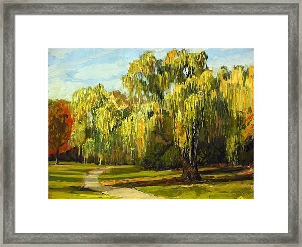 The Nemesis Tree Framed Print by Anthony Sell
