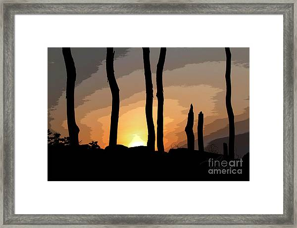 The New Dawn Framed Print