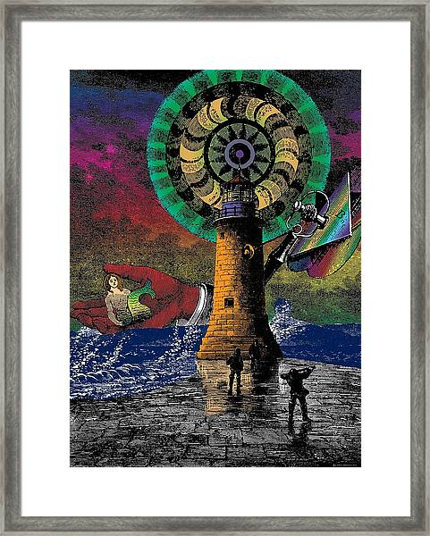 The New Pharos Framed Print