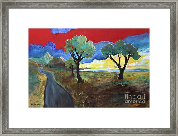 The New Road Framed Print