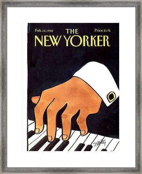 The New Yorker Cover - February 10th, 1992 Framed Print by Donald Reilly