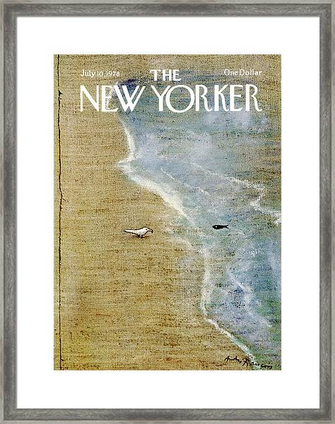 The New Yorker Cover - July 10th, 1978 Framed Print