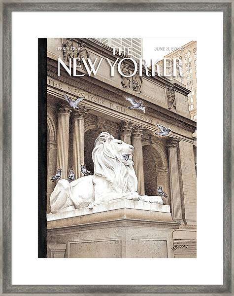 It Is A Jungle Out There Framed Print
