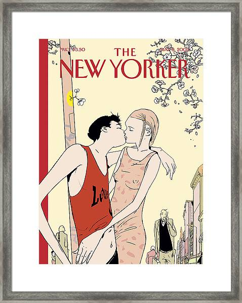 The New Yorker Cover - May 6th, 2002 Framed Print
