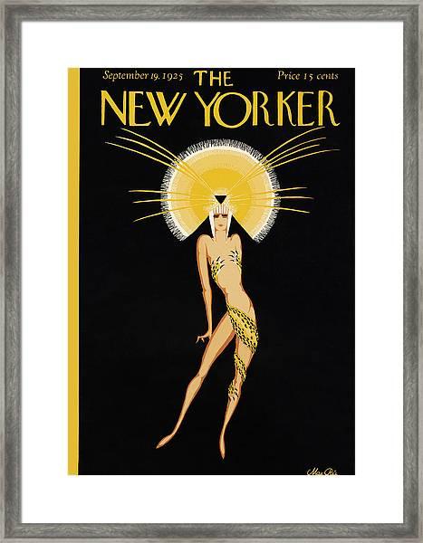 The New Yorker Cover - September 19th, 1925 Framed Print