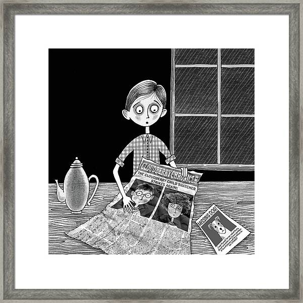The News  Framed Print by Andrew Hitchen