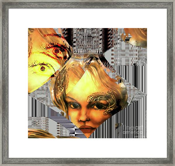 The Next Generation Detail Framed Print