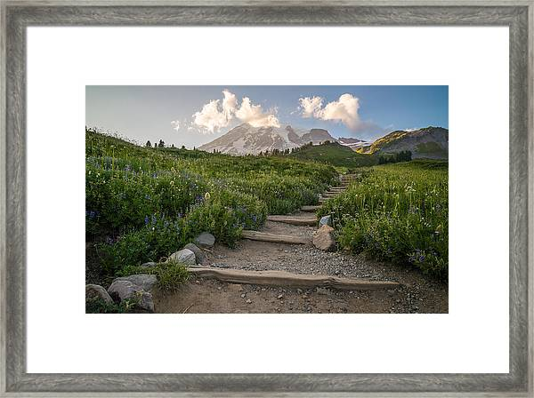 The Next Step Framed Print