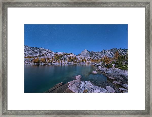 The Night In Leprechaun Lake Framed Print