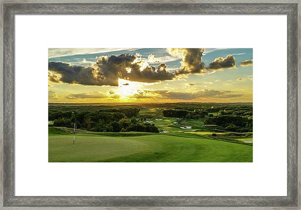 The Ninth Hole II Framed Print