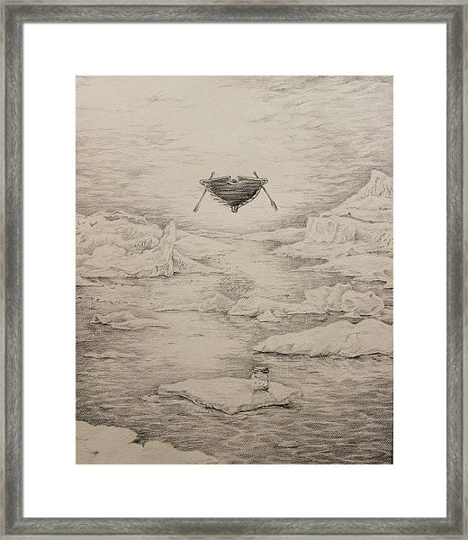 The Non-locals Framed Print