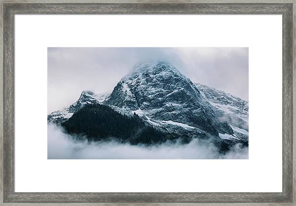 Framed Print featuring the photograph The North Cascades by John Westrock