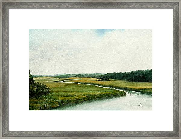 The North River Framed Print