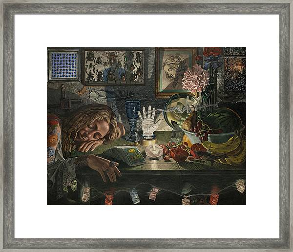 The Occultist Framed Print