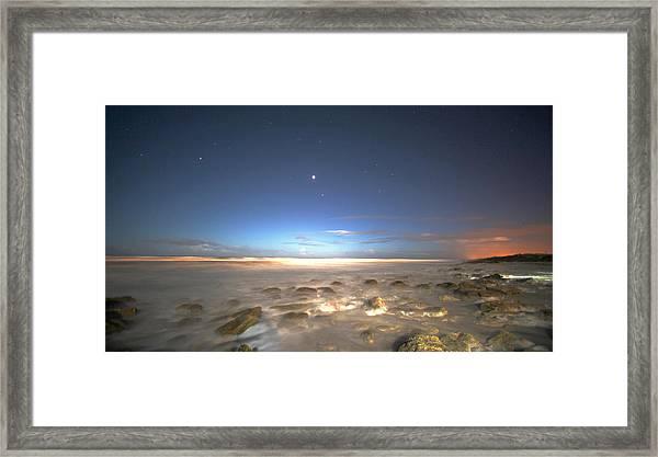 The Ocean Desert Framed Print