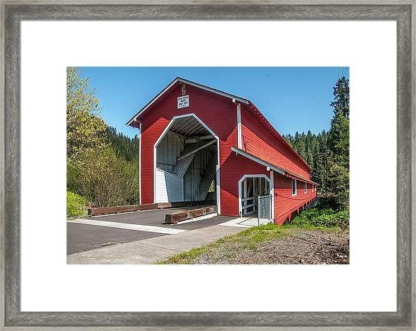 The Office Bridge Framed Print