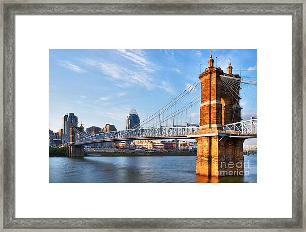 Framed Print featuring the photograph The Old And The New by Mel Steinhauer