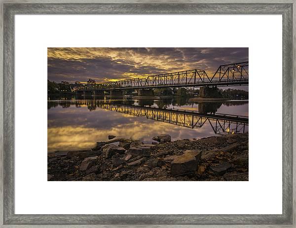 Underwater Bridge Framed Print