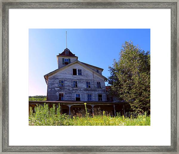 The Old Cold Spring Hotel Framed Print