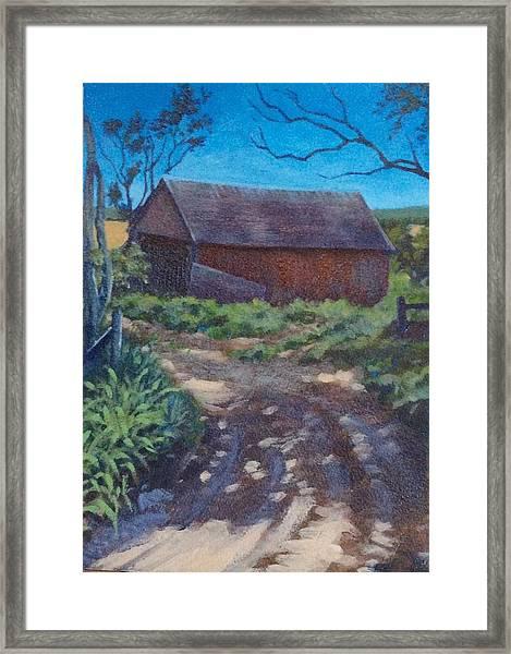 The Old Homestead Framed Print
