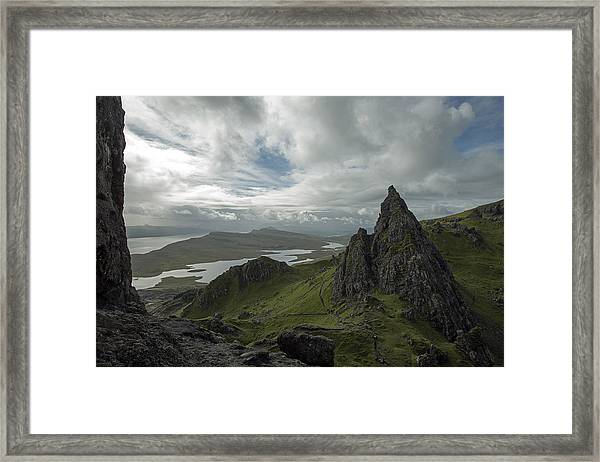 The Old Man Of Storr Framed Print