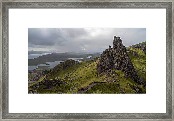 The Old Man Of Storr, Isle Of Skye, Uk Framed Print