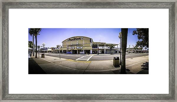 The Old Myrtle Beach Pavilion Framed Print