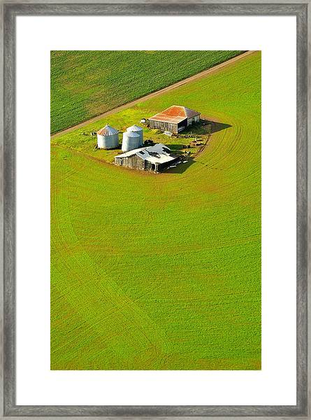 The Old Place Framed Print