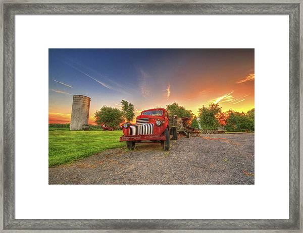Country Treasure Framed Print
