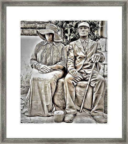 The Olders  Framed Print