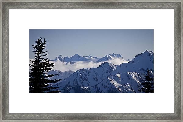 The Olympics Framed Print