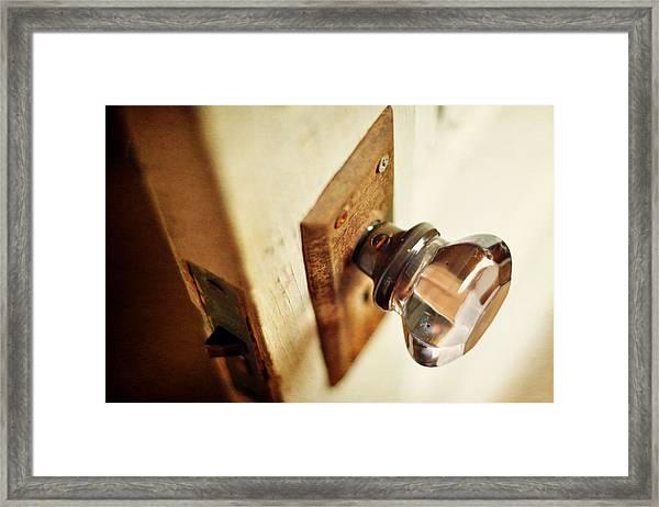 The Open Door Framed Print
