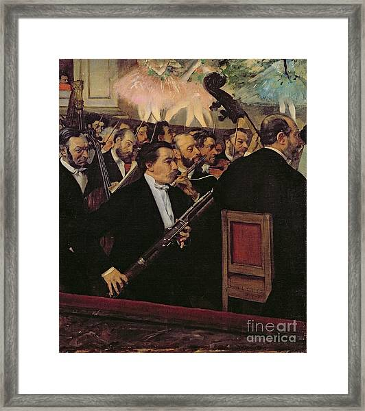 The Opera Orchestra Framed Print