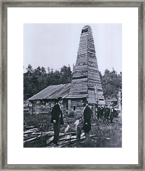 The Original 1859 Drake Oil Well Framed Print