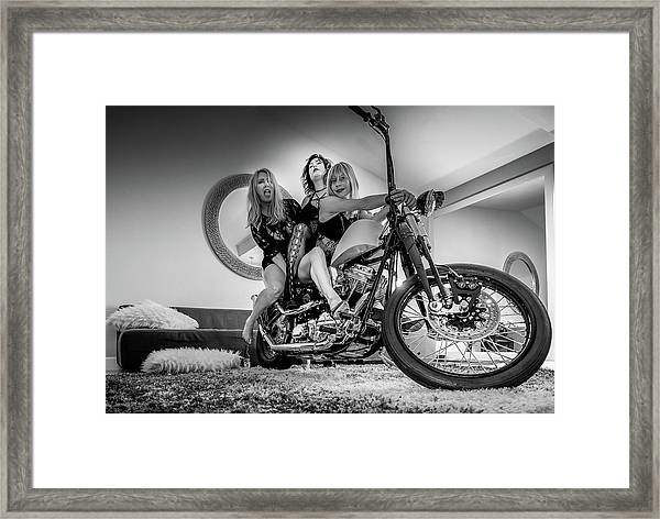 The Original Troublemakers- Framed Print