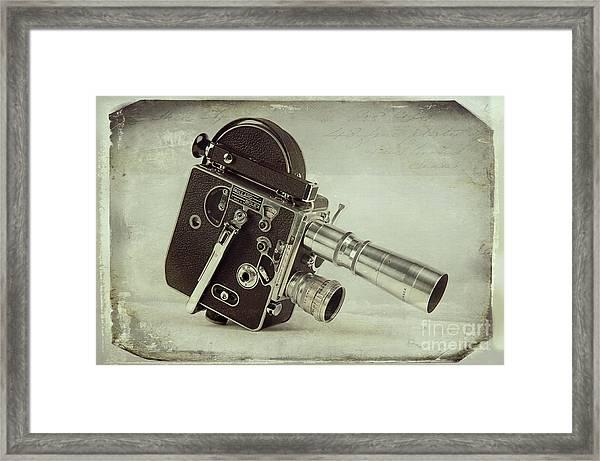 The Original Windup Toy Framed Print