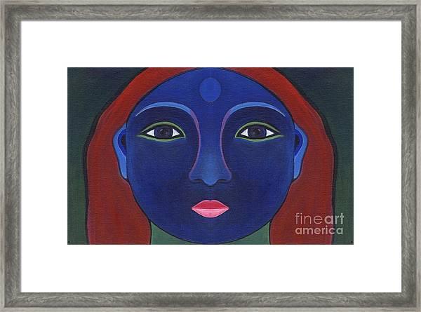 The Other Side - Full Face 1 Framed Print