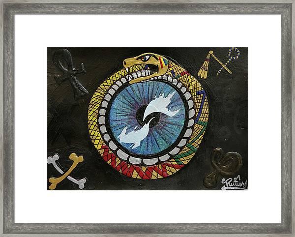 The Ouroboros Framed Print