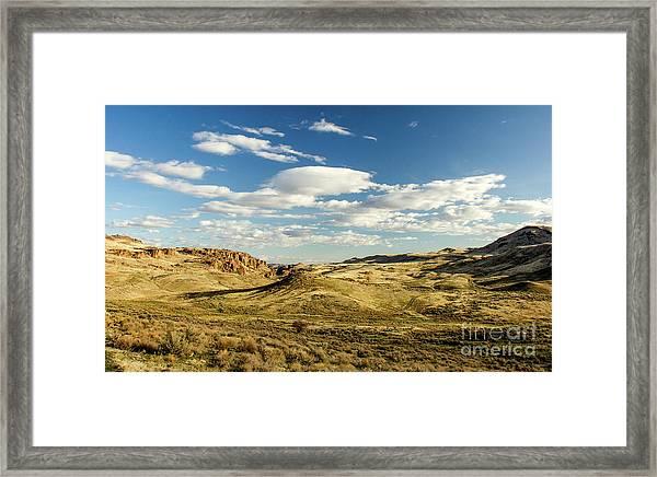The Owyhee Desert Idaho Journey Landscape Photography By Kaylyn Franks  Framed Print