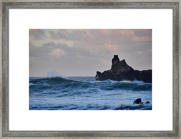 The Pacific Ocean Framed Print