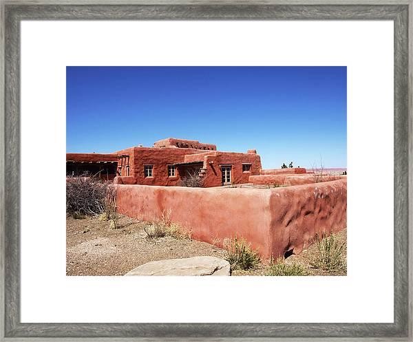 The Painted Desert Inn Framed Print