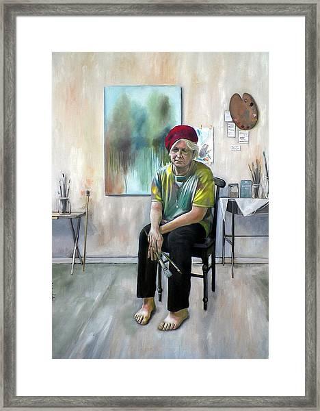 The Painter Framed Print