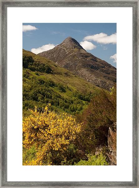 The Pap Of Glencoe Framed Print