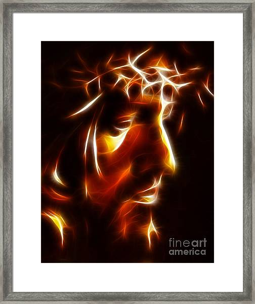 The Passion Of Christ Framed Print
